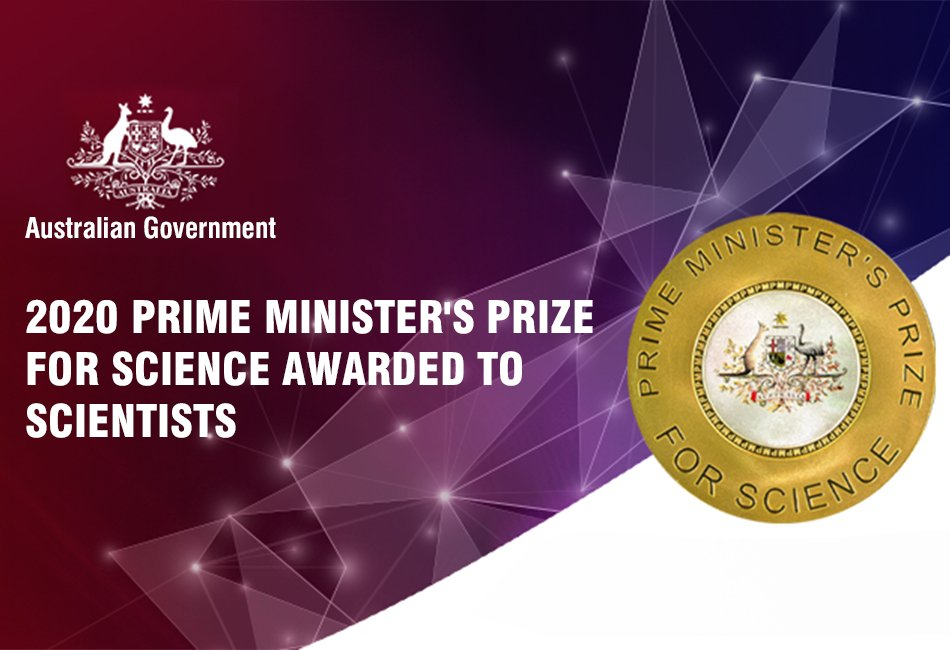 2020 Prime Minister's Prize for Science awarded to Scientists_ozlinks education